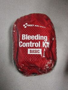 FIRST AID ONLY BLEEDING CONTROL KIT BASIC #91061 - NEW