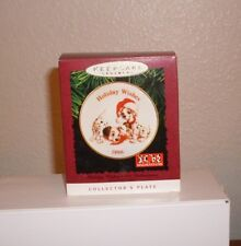 Hallmark Ornament Disney Holiday Wishes 101 Damlations Plate New