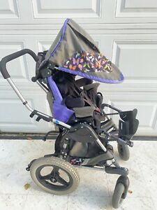 Quickie Zippie Kid Kart Express Tilt Recline Early Intervention Wheelchair