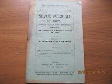 Revue Médicale de Louvain N°14 1933 L'hypophyse antérieure