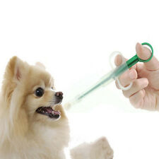 Dog Cat Capsules Pills Syringe Medicine Feeder Small Animal Pet Feeding Suppl St