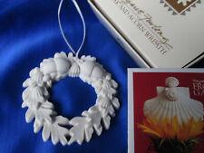 "Margaret Furlong Oak Acorn Wreath 2 7/8"" X 3"" Great Cndtn W/Brochure And Box"