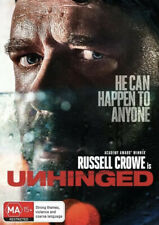 UNHINGED DVD-RUSSELL CROWE-NEW/SEALED-REG 4-FAST FREE POST 👍