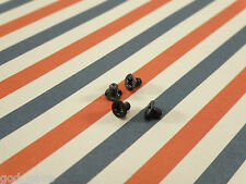 FOUR Genuine Beats Solo2 Solo 2 Headband Screws Replacement Screw SET OF 4 BLACK