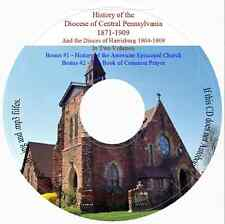 Central Pennsylvania Episcopal Diocese In Two Volumes + Bonus Books