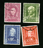 Germany Stamps # B310-13 VF Used Catalog Value $145.50