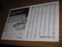 1965 Print Ad Kelvinator Wedgewood Washing Machine Washer AMC Detroit,MI