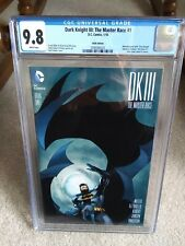 Dark Knight III The Master Race #1 cgc 9.8 Neal Adams variant DCBS edition