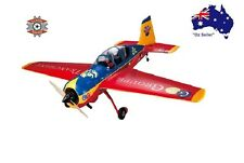 "RC remote control 59"" Aeroplane Airplane Yak54 Ready to Fly"