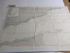 Antique Vintage Navy Nautical Chart Aeronautical Map GULF OF ADEN & Adjac. Coast