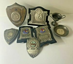 Collection of Rare Boxing Trophies Won by Professional Featherweight Brian Jago