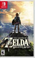 Legend of Zelda: Breath of the Wild (Nintendo Switch, 2017) Brand New !!