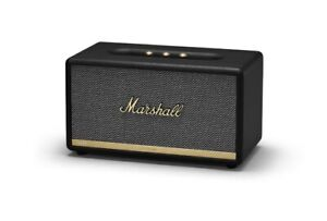 MARSHALL STANMORE 2 II BT ACTIVE BLUETOOTH STEREO SPEAKER RCA AUX-in (Black)