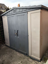 Keter 8ft X 8ft Plastic Shed