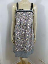 BCBG Max Azria Multi-color Adj Straps Sleeveless Pockets Dress Size 6