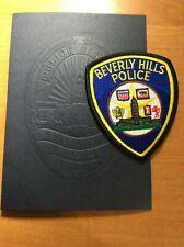 PATCH POLICE BEVERLY HILLS CALIFORNIA CA + Presentation Folder Booklet
