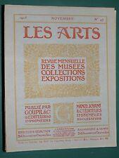 Les Arts revue mensuelle n° 47 1905 La collection E. CRONIER