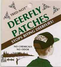 4 /pk Trednot Deerfly Patches, Deer Fly Patch , repellent repellant tape / strip