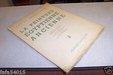 LA PEINTURE EGYPTIENNE 2 ALBERT GUILLOT ART ET ARCHEOLOGIE 1954