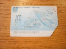02/06/1998 Ticket: Zwolle v Cambuur (Creased, Faded). No obvious faults, unless