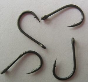 Teflon Coated Carp Hooks, Wide Gape Boilie Style,Barbed and Barbless,sizes QTYs