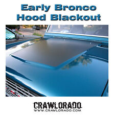Ford Bronco Hood Blackout Decal Early Classic 66-77