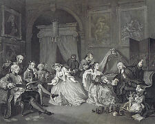 Marriage à-la-mode - Toilette Scene with Toys- Hogarth -National Gallery 1836