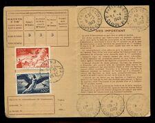 FRANCE 1949 COMMEMORATIVE ISSUES CARTE DABONNEMENT...12 CANCELS