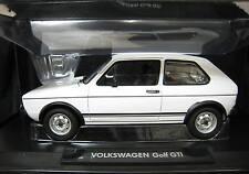 VW VOLKSWAGEN GOLF I PHASE 1 GTI 1977 WHITE NOREV 188484 1/18 BLANC BIANCA