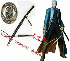 clay tempered t10 steel blade Yamato Samurai Sword Devil May Cry Virgil Katana
