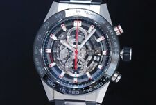 TAG Heuer Carrera Caliber Heuer01 Chronograph CAR2A1W.BA0703 Skeleton Dial Men's