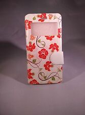 """Ultra Tough Flower magnetize flip cover leather case for iPhone 6 4.7"""" (#003)"""