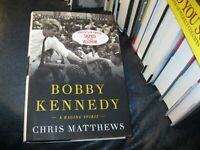 "Robert Kennedy ""BOBBY KENNEDY: A RAGING SPIRIT""  Autographed by  Chris Mathews"