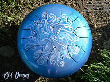 AM Drum - personalised handmade ANY SCALE steel tongue drum hank tank handpan