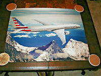 AMERICAN AIRLINES POSTER NEW LIVERY