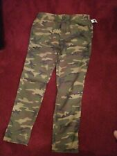 GAP SLIM FIT 100% COTTON CAMO UTILITY PANTS / 36 WAIST X 36 INSEAM