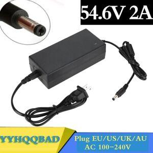 54.6V 2A Charger For 48V li-ion Battery Charger 48V 13S Lithium Ebike Battery