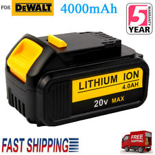 For 20V DEWALT DCB205 20 Volt MAX Lithium Ion XC 4.0 AH Battery DCB204-2 DCB201