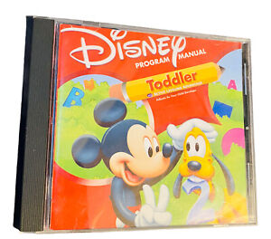 Disney Mickey Program Manual Toddler Interact Learn Active Leveling Complete PC