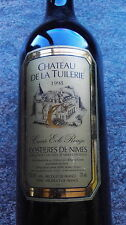 1 BOUTEILLE CHATEAU DE LA TUILERIE 1998 COSTIERES DE NIMES CUVEE EOLE ROUGE