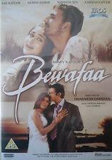 BEWAFAA - ORIGINAL EROS BOLLYWOOD DVD - Anil Kapoor, Akshay Kumar, Sushmita Sen.
