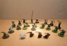 Lot of 23 Warhammer Lord Of The Rings Plastic Figures