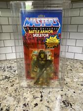K2015513 BATTLE ARMOR SKELETOR MOC MINT ON SEALED CARD HE-MAN 1983 MOTU VINTAGE