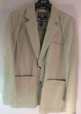 Duluth Trading Company Medium Men's Fire Hose Presentation Jacket - Khaki EUC