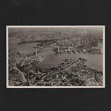 1950's Vintage Postcard SYDNEY - real photo - Harbour Bridge but no Opera House