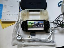 Sony PlayStation Portable - Black (PSP-1001) With Charger  / New Battery