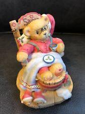 """Cherished Teddies 1998 Santa Figurine, Le, """"A Little Holiday R & R� 352713 w/box"""