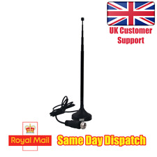 Freeview TV Aerial Portable Mini Indoor/Outdoor Digital Antenna - August DTA208