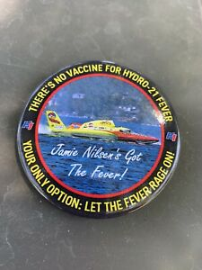 J & D U-11  Unlimited Hydroplane Pin button Seattle Seafair