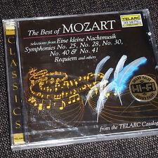 TELARC CD the best of Mozart neu&ovp